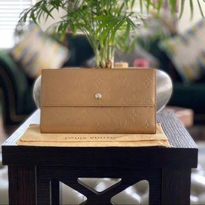 LOUIS VUITTON  Monogram mat Porte Tresor purse